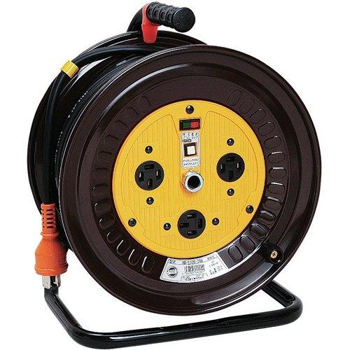 日動工業 日動 三芯200Vドラム NDE330-20A 450402