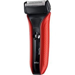 ブラウン シェーバー Water Flex レッド 水洗いタイプ・お風呂剃り対応 WF2S-RED