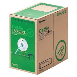 送料無料 エレコム RoHS対応LANケーブル CAT5E 100m 簡易パッケージ RS 信用 LD-CT2 LB100 宅配便送料無料 ライトブルー