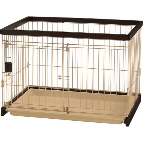 (ha039)Richell(リッチェル) 木製お掃除簡単ペットサークル 90-60 超小型犬・小型犬用 ダークブラウン 89511-5【smtb-s】