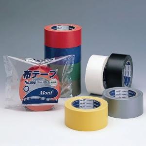 古藤工業 Monf カラー布テープ No.890 50mm×25m 黄「入りケース販売」 【642-0556】【入数:30】【smtb-s】