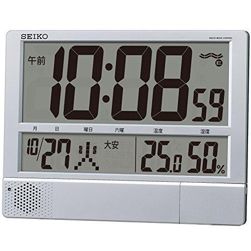 セイコークロック 商品コード:ZKL7201 セイコー 電波プログラム付掛置兼用時計 SQ434S【smtb-s】