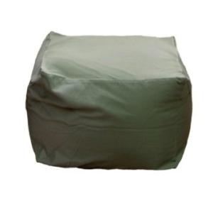 フレックス販売 ビーズクッション アースカラーキューブチェア Mサイズ グリーン PCM-5512T【smtb-s】
