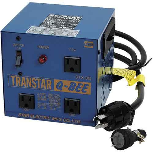 世界的に スター電器製造 Q-BEE トランスター Q-BEE STX-3Q【smtb-s】, イソヤグン:f510ca64 --- business.personalco5.dominiotemporario.com