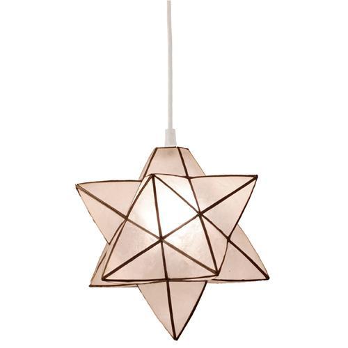 エルックス Lu Cerca Roxas Star Pendant[ロハス・スターペンダント] ホワイト (LC10758)【smtb-s】