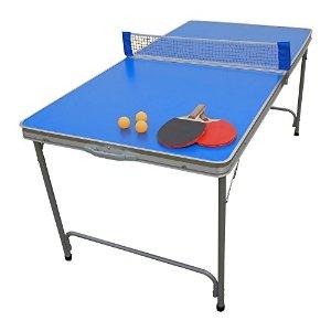 TAC(タック) 折りたたみファミリー卓球台セット(ピンポン台) TAN-595 (1021719)【smtb-s】
