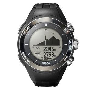 EPSON Wristable GPS for Trek 腕時計 ランニング 登山用 GPS 3D標高ナビゲーション MZ-500B