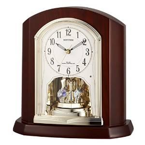 リズム時計 RHYTHM リズム 電波 置き時計 パルロワイエR702SR 4RY702SR06【smtb-s】