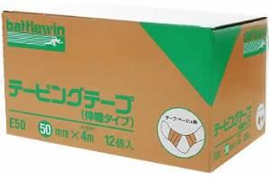 ニチバン テーピングテープ E-50(50MMX4M)12カン【smtb-s】