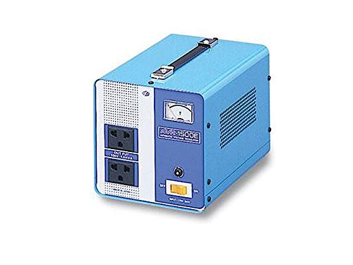 スワロー電機 海外用 交流定電圧電源装置 1.5KVA AVR-1500E (AVR-1500E)【smtb-s】