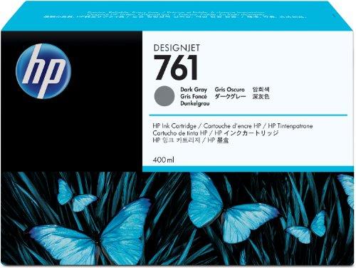 HP 761 インクカートリッジ 400ml ダークグレー(CM996A)【smtb-s】
