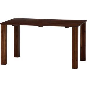 不二貿易 ダイニングテーブル シェラン 135*80 BR Odin Table 【37810】 ※北海道、沖縄、離島配送不可【smtb-s】