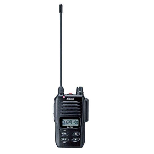 アルインコ 特定小電力トランシーバー同時通話27ch (交互通話20ch対応) 防浸相当IPX7 DJ-P45【smtb-s】