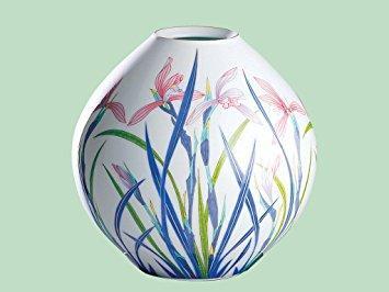 香蘭社 春蘭 花瓶   192-NQ8【smtb-s】