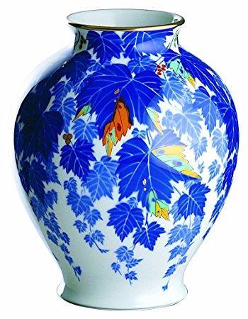 香蘭社 蔦 花瓶   102-NA9