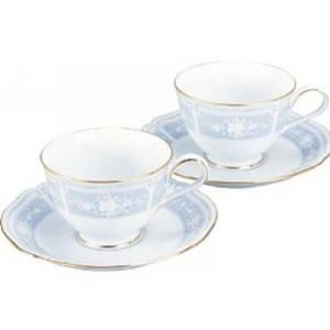 送料無料 Noritake ノリタケ レースウッドゴールド コーヒー碗皿セット 1507 Y6578A 通信販売 送料無料激安祭 ペアティー
