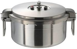 ワンダーシェフ プロビッグ 業務用圧力鍋 浅型 16L NPDA16 610201【smtb-s】