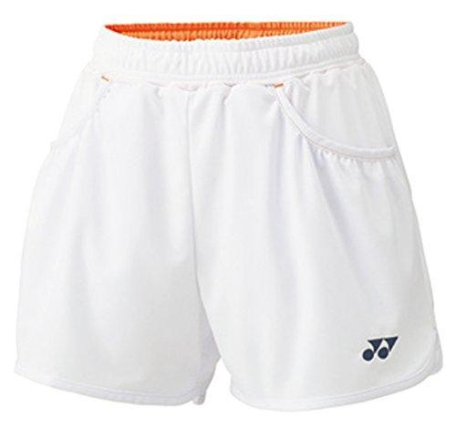 YONEX (25019/011)ヨネックス ウィメンズショートパンツ カラー:ホワイト サイズ:M【smtb-s】