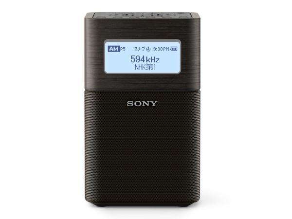 SONY ソニー SRF-V1BT-B FM/AMホームラジオ ブラック(SRF-V1BT)