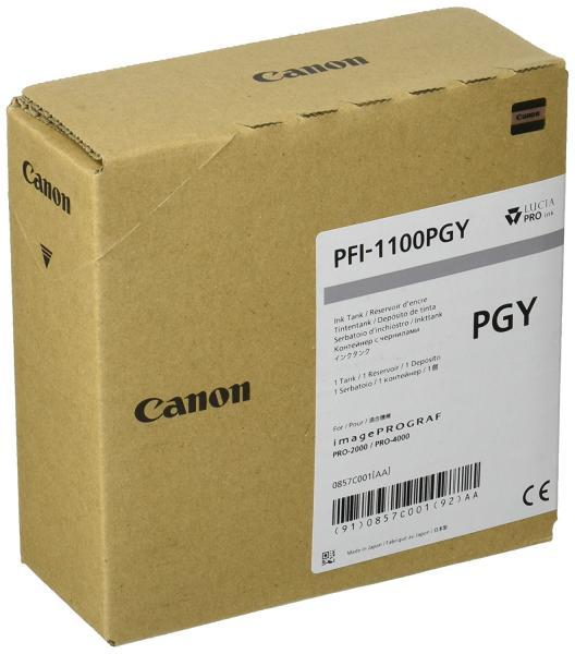 CANON canon キヤノン 大判プリンタ インクタンク PFI-1100 PGY フォトグレー 160ml【smtb-s】