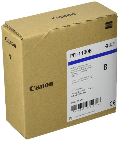 CANON canon キヤノン 大判プリンタ インクタンク PFI-1100 B ブルー 160ml【smtb-s】