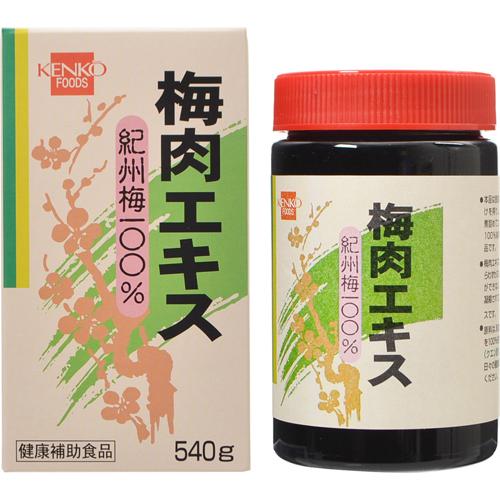 健康フーズ 梅肉エキス 紀州梅100% 540g【smtb-s】
