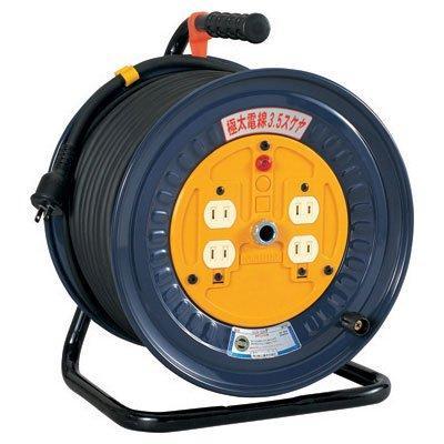 専門ショップ 日動工業 極太 3.5電線ドラム 極太 標準型 日動工業 50mタイプ 50mタイプ NDN-504F, ラック照明 専門店 オールライト:f2495281 --- gamedomination.xyz
