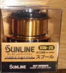 サンライン(SUNLINE) サンライン スペシャリストスプール SSM-25 ゴールド【smtb-s】