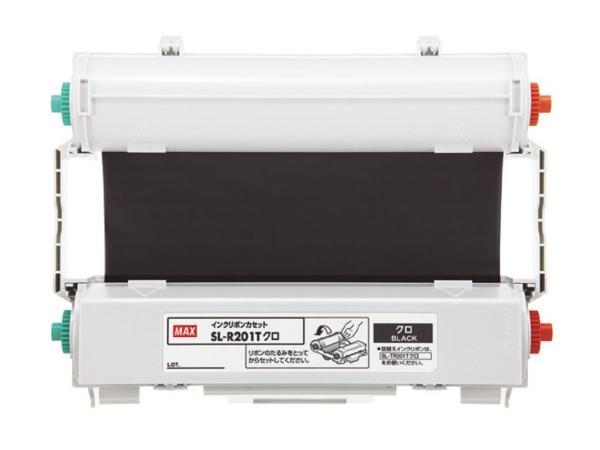 MAX インクリボン SL-R201Tクロ【smtb-s】