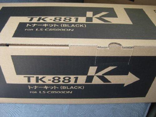 京セラ トナー ブラック(25.000枚) KY-TNTK881BKJ TK-881K【smtb-s】