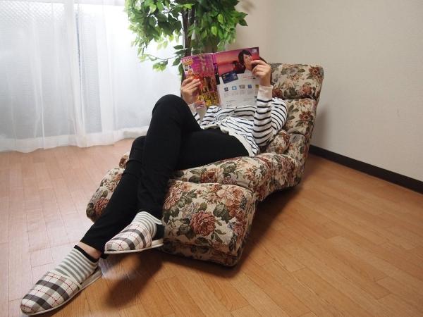 タック ふかふかリクライニング座椅子【smtb-s】