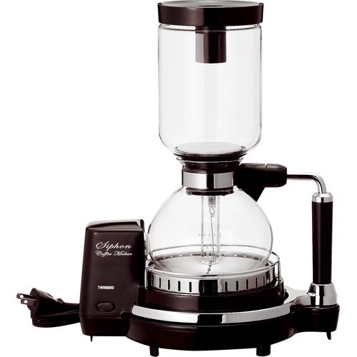ツインバード工業 ブラウン ツインバード CM-D854BR【smtb-s】 サイフォン式コーヒーメーカー