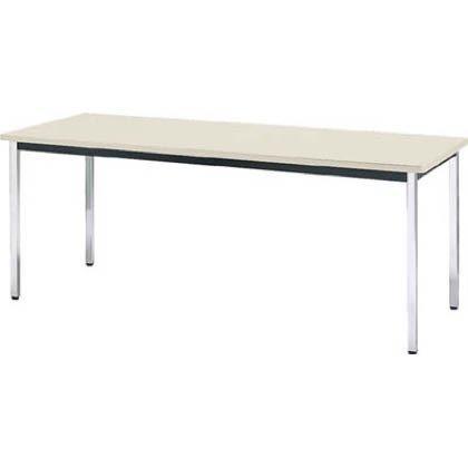 トラスコ中山(TRUSCO) 会議用テーブル 1800X750XH700 角脚【smtb-s】