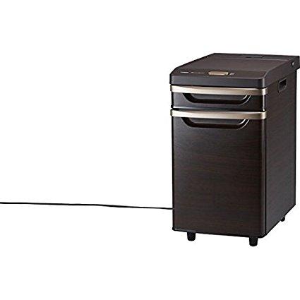 ツインバード工業 ベッドサイド冷蔵庫(HR-D282BR ブラウン)【17L】1ドア【smtb-s】