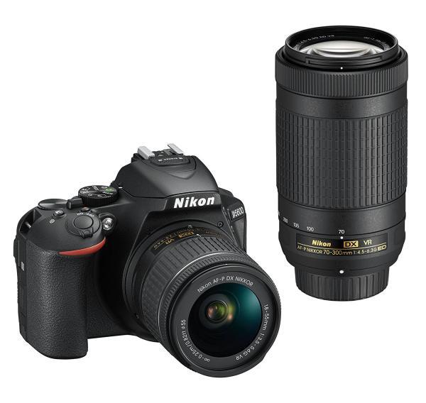 ニコン D5600-W70300KIT デジタル一眼カメラ「D5600」ダブルズームキット(D5600 W70-300KIT)【smtb-s】