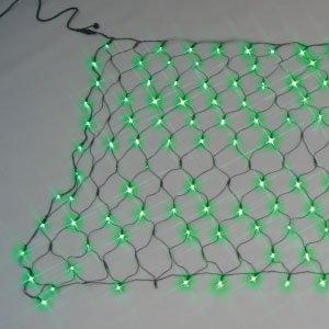ジェフコム LEDクロスネット(ランダム点滅タイプ)緑・緑【smtb-s】