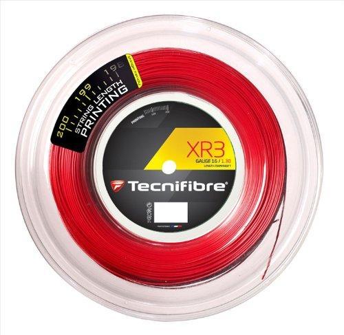 テクニファイバー(Tecnifibre) XR3_1.30_ロール_200M (TFR911) [色 : レッド]【smtb-s】