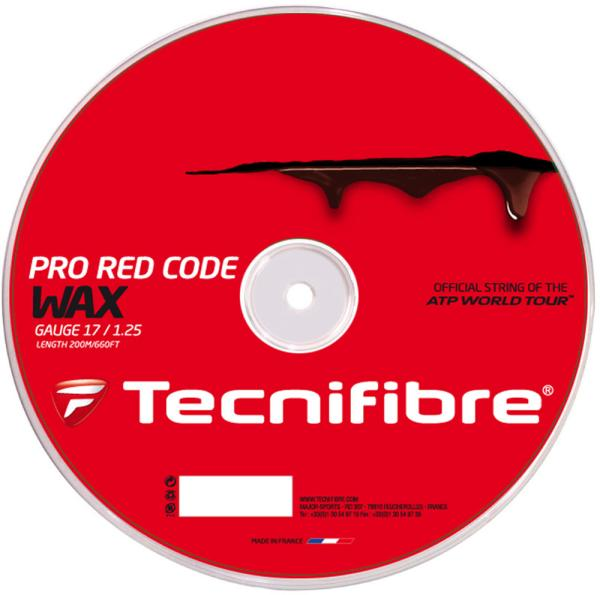 Tecnifibre PRO_REDCODE_WAX_1.25_ロール (TFR521) [色 : レッド]【smtb-s】