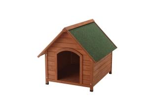 リッチェル 木製犬舎830 83×101×82.5Hcm ブラウン【smtb-s】