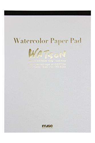 送料無料 ミューズ ホワイトワトソンパッド A4 超特価 PD-6244 シロ 高額売筋