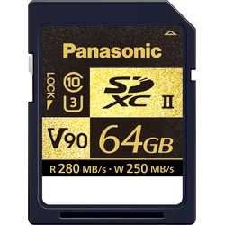 パナソニック 64GB SDXC UHS-II メモリーカード RP-SDZA64GJK(RP-SDZA64GJK)【smtb-s】