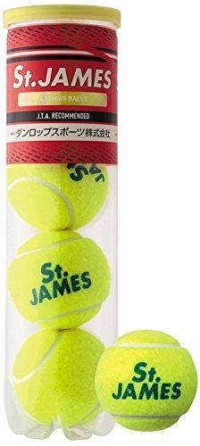ダンロップ テニスボール セントジェームス 4球入り (STJAMESI)【入数:15】【smtb-s】