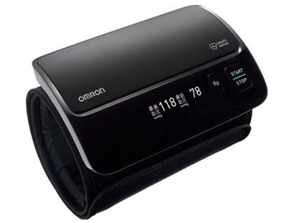 オムロン HEM7600T-BK 血圧計 上腕式(HEM-7600T)