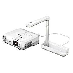 エプソン EPSON プロジェクター EB-950WHV 3、000lm WXGA 2.7kg 書画カメラ付き