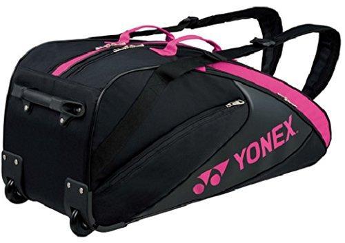 ヨネックス(YONEX) ラケットバッグ(キャスターツキ) (BAG1732C) [色 : ブラック/ピンク]【smtb-s】