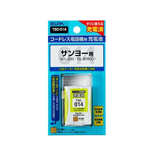 ELPA エルパ 朝日電器 電話機用充電池 TSC-014【smtb-s】