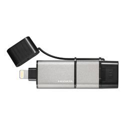 アイ・オー・データ機器 iPhone/Android/パソコン用 USBメモリー 64GB(U3-IP2/64GK)【smtb-s】