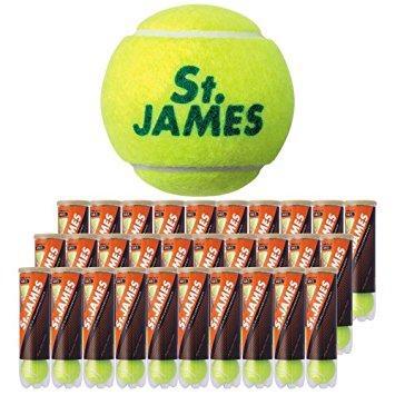 ダンロップ テニスボールセントジェームス4ケイリ(15カン (STJAMESI15)【smtb-s】