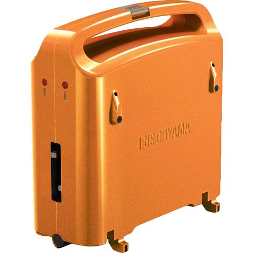 アイリスオーヤマ 両面ホットプレート DPO-133-D オレンジ【smtb-s】