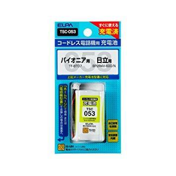 ELPA エルパ 朝日電器 電話機用充電池 TSC-053【smtb-s】